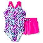 Girls' One Piece Swimsuit Turquoise - Circo®
