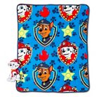 "Paw Patrol Pillow and Throw Set - Multi-Colored (40""X50"")"