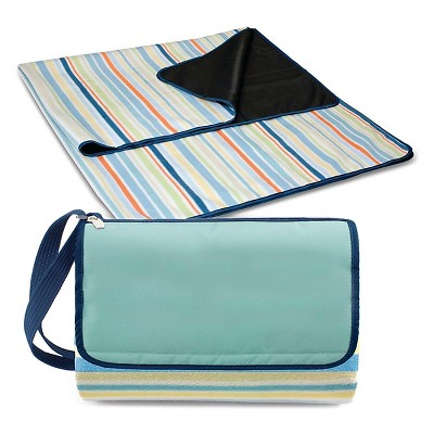 Outdoor Blanket Tote - Aqua