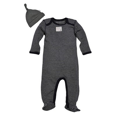 Burt's Bees Baby Newborn Boys' Coverall - Blueberry 0-3M