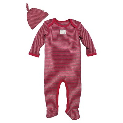 Female Coveralls Burt's Bees Strawberry 0-3 M