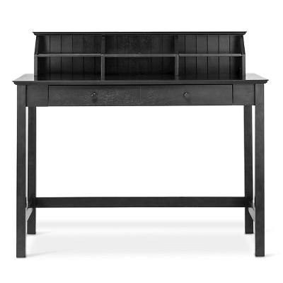 Stafford Desk with Hutch - Ebony