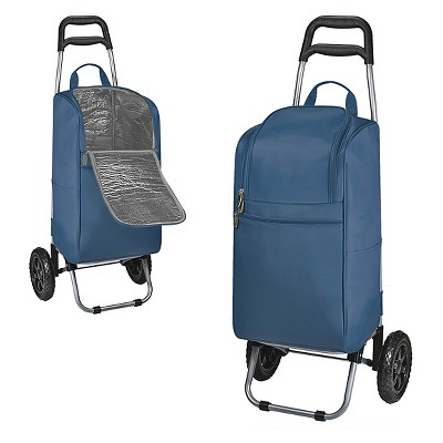 Cart Cooler with Trolley - Navy