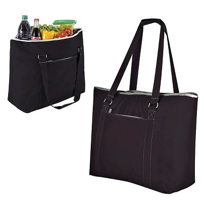 Picnic Time Tahoe Cooler Tote - Black