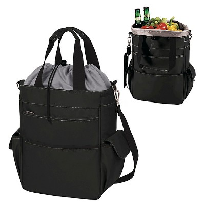 Picnic Time Activo Cooler Tote - Black