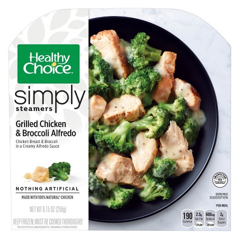 Healthy Choice Simply Chicken Broccoli Alfredo 9... : Target