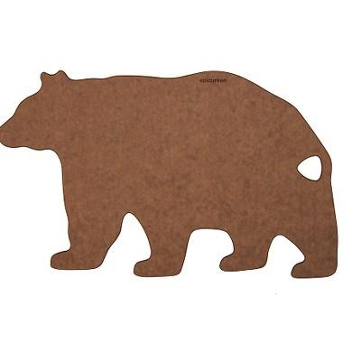 Epicurean Bear Shape Board - Nutmeg/Brown