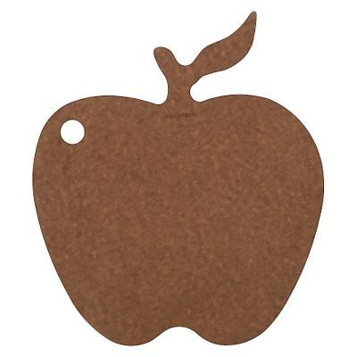 Epicurean Apple Shape Board - Nutmeg/Natural