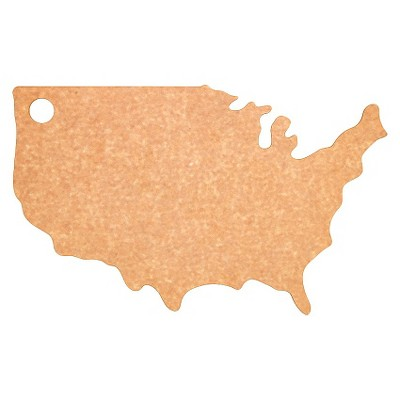 Epicurean USA Shape Board - Natural