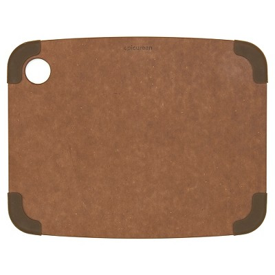 Epicurean 11.5x9 Non-Slip Cutting Board - Nutmeg/Brown