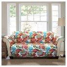 Layla Furniture Protector Orange/ Blue Sofa