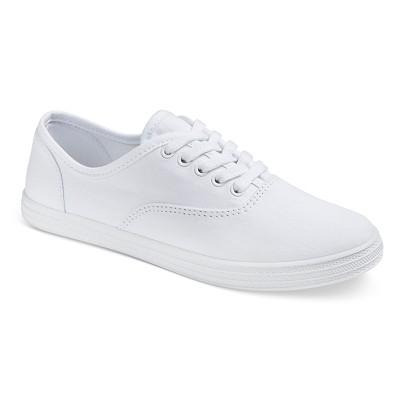 Women's Lunea Canvas Sneakers - White 9