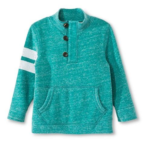Toddler Boys Sweatshirt Green Heather Chero Tar