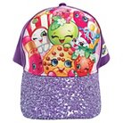 Girls' Shopkins Baseball Hat OSFM - Purple 4-16