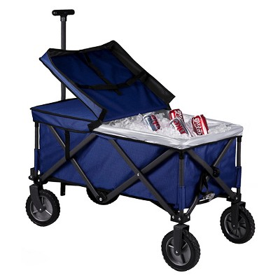 Adventure Wagon Elite Folding Utility Wagon with Liner - Navy