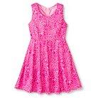 Girls' Animal Print Shift Dress Pink XS (4-5) - Xhilaration™
