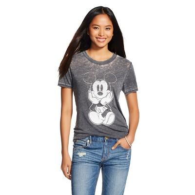 Mickey Graphic Tee Black (L) - Disney