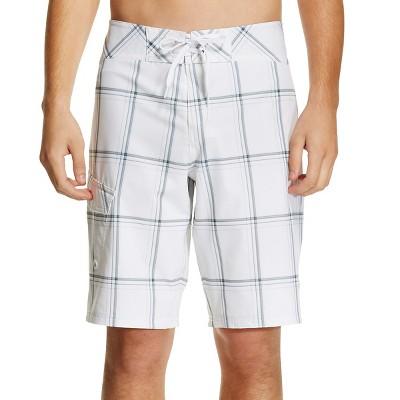 Men's Board Shorts True White 34 - Mossimo Supply Co.