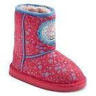Toddler Girls' Peppa Pig Shearling Boots - Pink