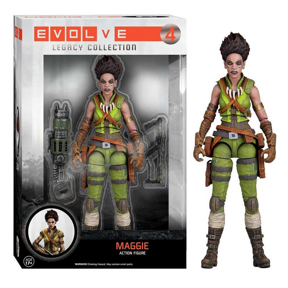 Legacy: Evolve - Maggie, Mini Figures
