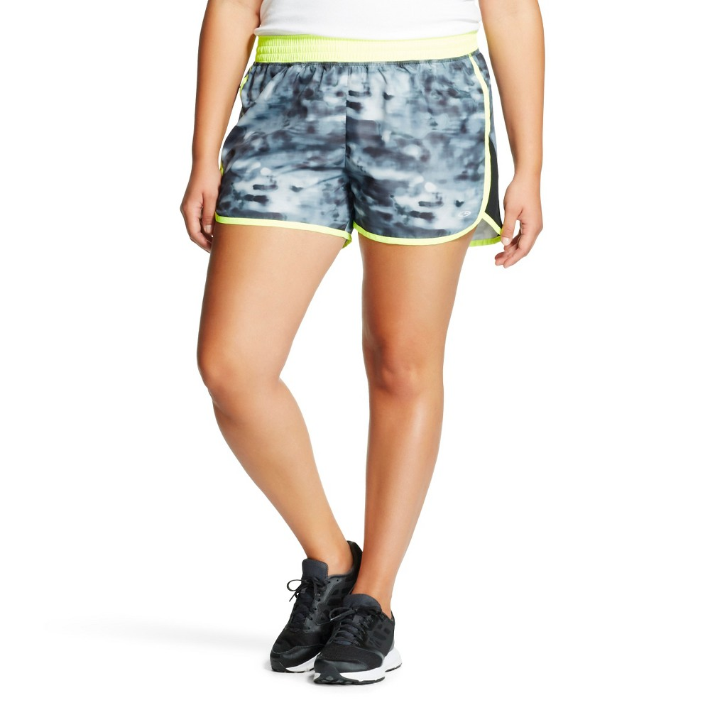 C9 Champion Women's Plus Size Run Short - Gray