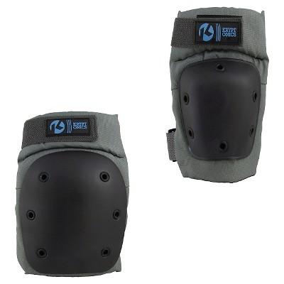 Kryptonics Pro Pad Set (Knee, Elbow) Battleship - L/XL