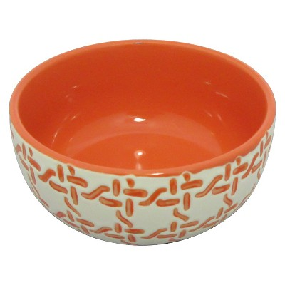 Bowls Threshold Red Solid
