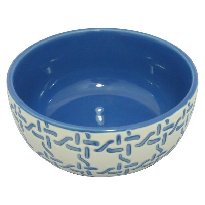 Bowls Threshold Blue Solid