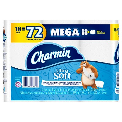 Charmin Ultra Soft 18 Mega Roll