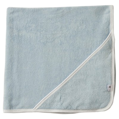 Burt's Bees Baby™ Newborn Hooded Bath Towl - Blue Sky