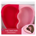 Wilton Heart Silicone Pan - 2 Pcs