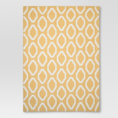 "Threshold™ Aurora Area Rug - Yellow (4'x5'6"")"