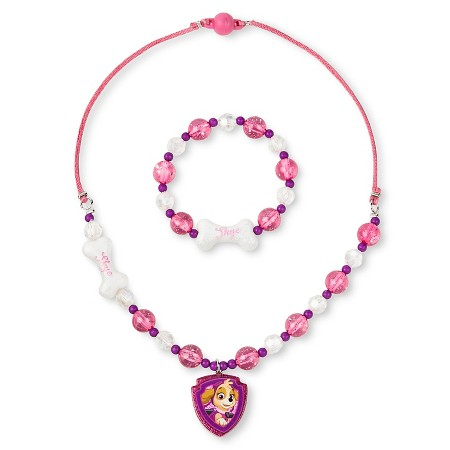 toddler frozen necklace and bracelet set multi