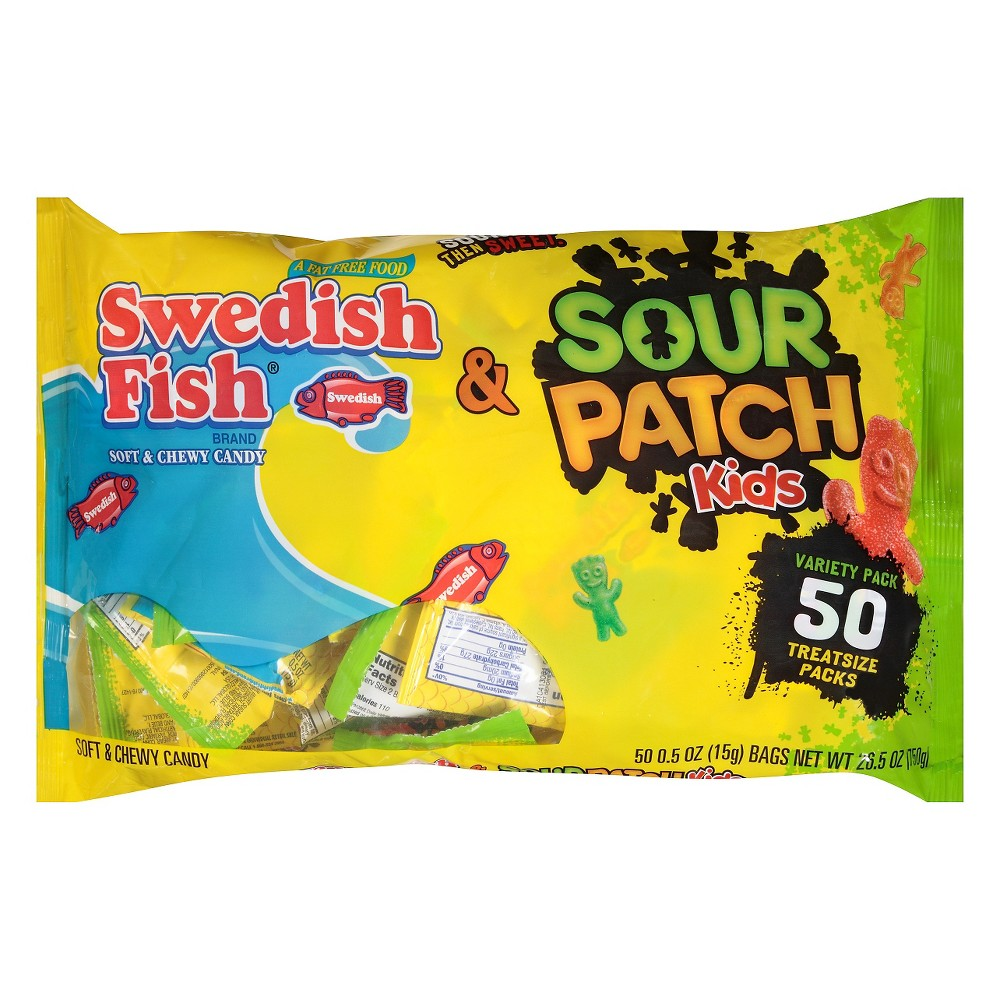 Upc 070462001327 lot of 280 sour patch kids candy sour for Swedish fish candy canes