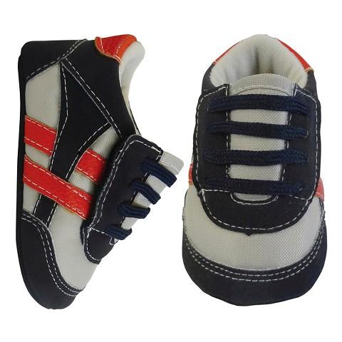 Toddler Boys Rising Star Crib Shoes Gray Tar
