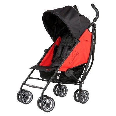 Summer Infant® 3Dflip Reversible Front or Rear Facing Convenience Stroller - Red