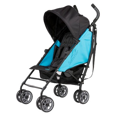 Summer Infant® 3Dflip Reversible Front or Rear Facing Convenience Stroller - Blue