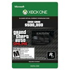 Xbox One Grand Theft Auto V Bull Shark Cash Card - $9.99 (email delivery)