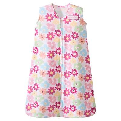 HALO SleepSack 100% Cotton Wearable Blanket - Flower Garden - Medium