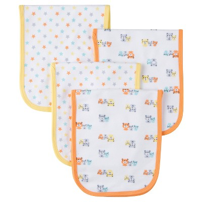 Gerber® Onesies® 4 pack Burp Cloth - Bear Print One Size
