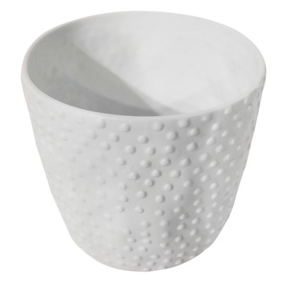 Threshold™ Porcelain Hobnail Tabletop Planter -White