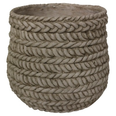 Threshold™ Rope Texture Tabletop Planter