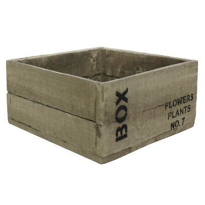 Threshold™ Cement Box Tabletop Planter