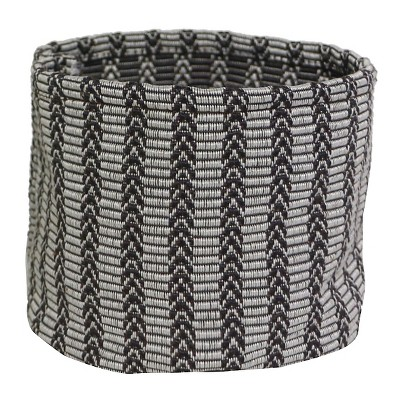 Fabric Tabletop Planter with Liner Grey & White - Threshold™