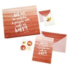 Note Card Set - Red