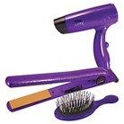 CHI Air Classic Tourmaline Ceramic Hairstyling Iron - 1� Purple Holiday Gift Set