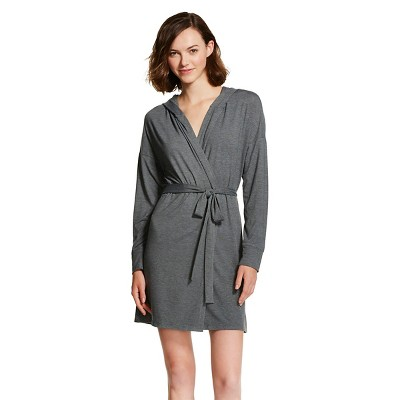 Women's Robe Heather Gray L/XL - Xhilaration™