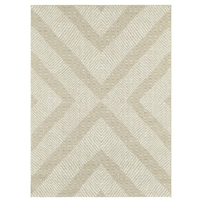 "30""x50"" Outdoor Rug - Tan Geo - Threshold™"