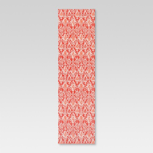 Target Green Kitchen Rug: Red Ikat Outdoor Rug - Threshold