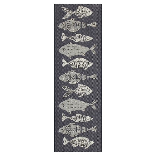 Navy Fish Outdoor Rug - Threshold